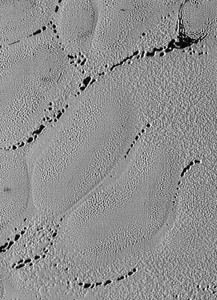 crater chains pits pluto Electric Universe theory