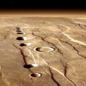 electric crater chains pluto evidence asteroids geology plasma discharge