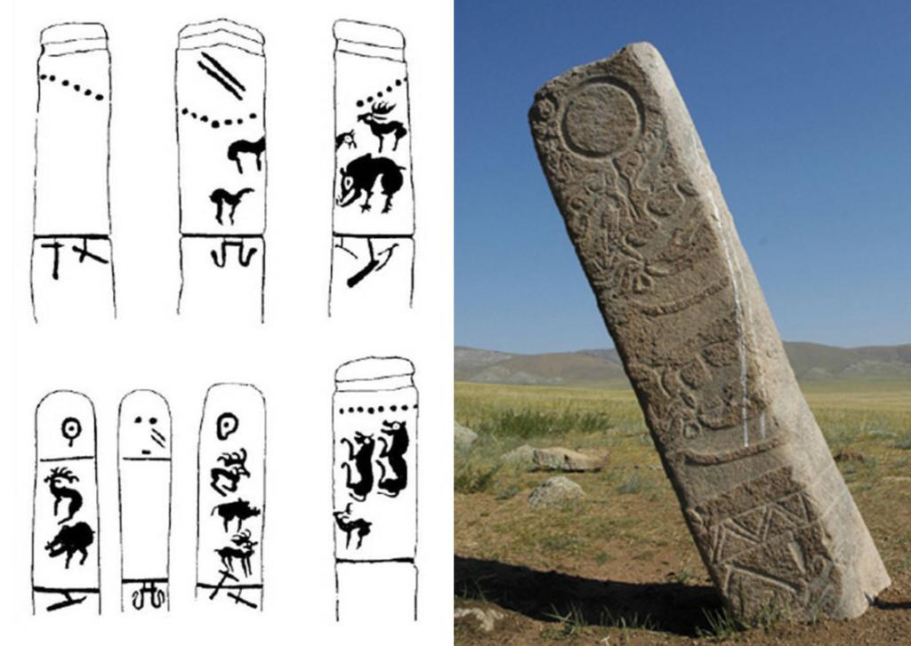 deer stones mongolia altai plasma mythology