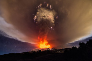 how why does lightning volcanoes volcano create origin start form