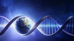 dna electromagnetic radiation earth