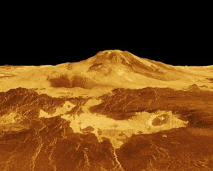 early venus co2 liquid geology features