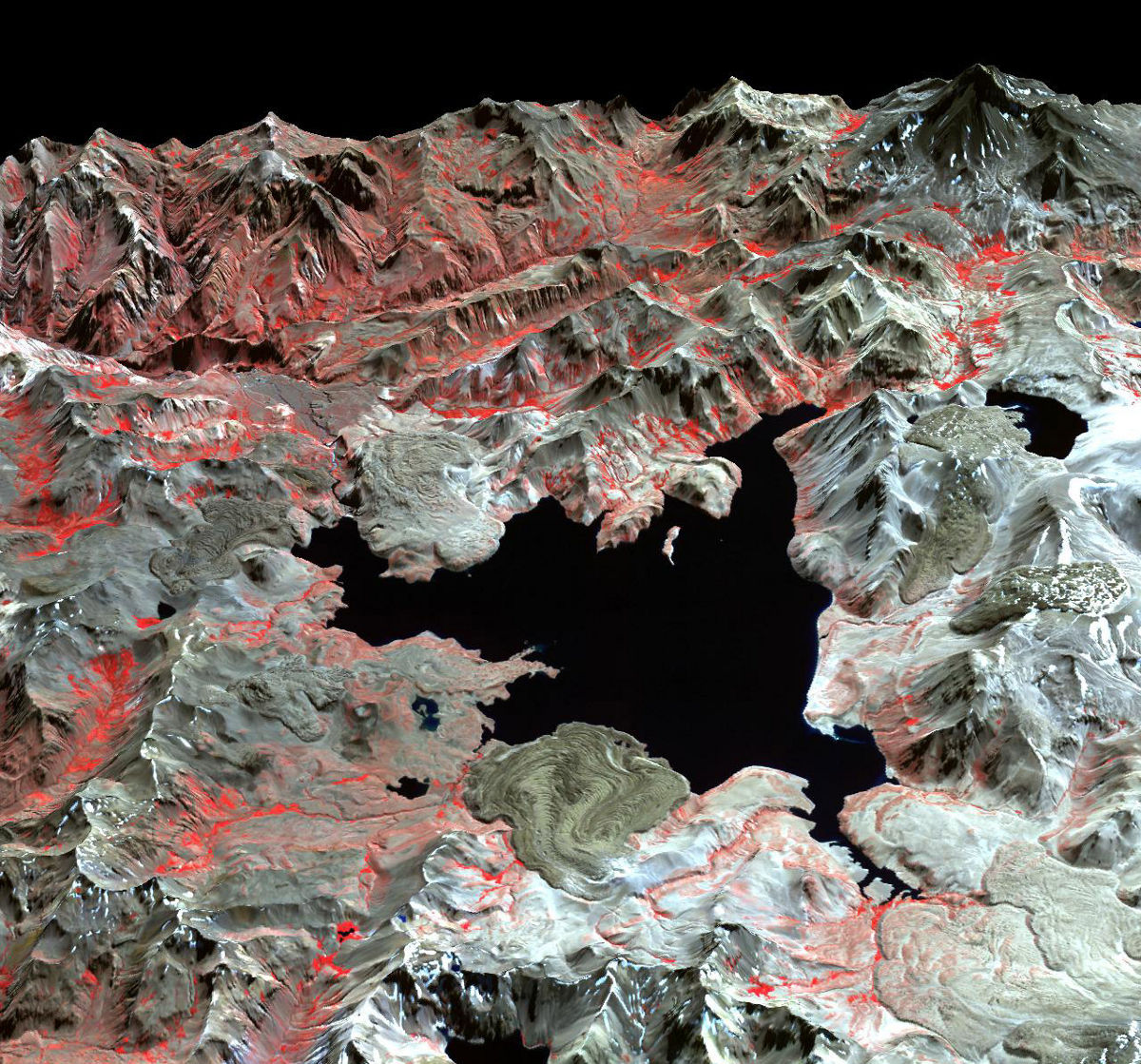 earth ground uplift laguna del maule chile