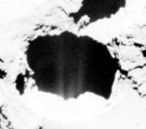 edm spark erosion craters comet 67p featured