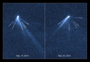 active asteroids are electric comets