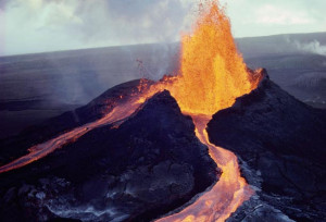 Electric Volcano and magma evidence electrical electromagnetic