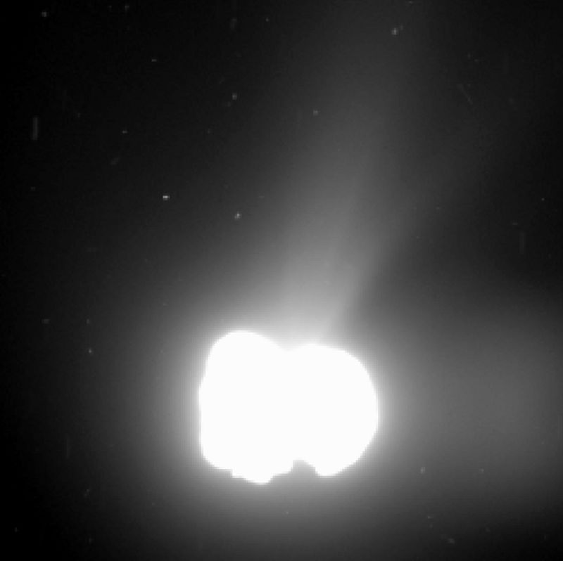 Electric Comets evidence magnetosphere