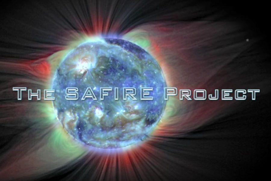 electric suns stars electromagnetic plasma SAFIRE Project