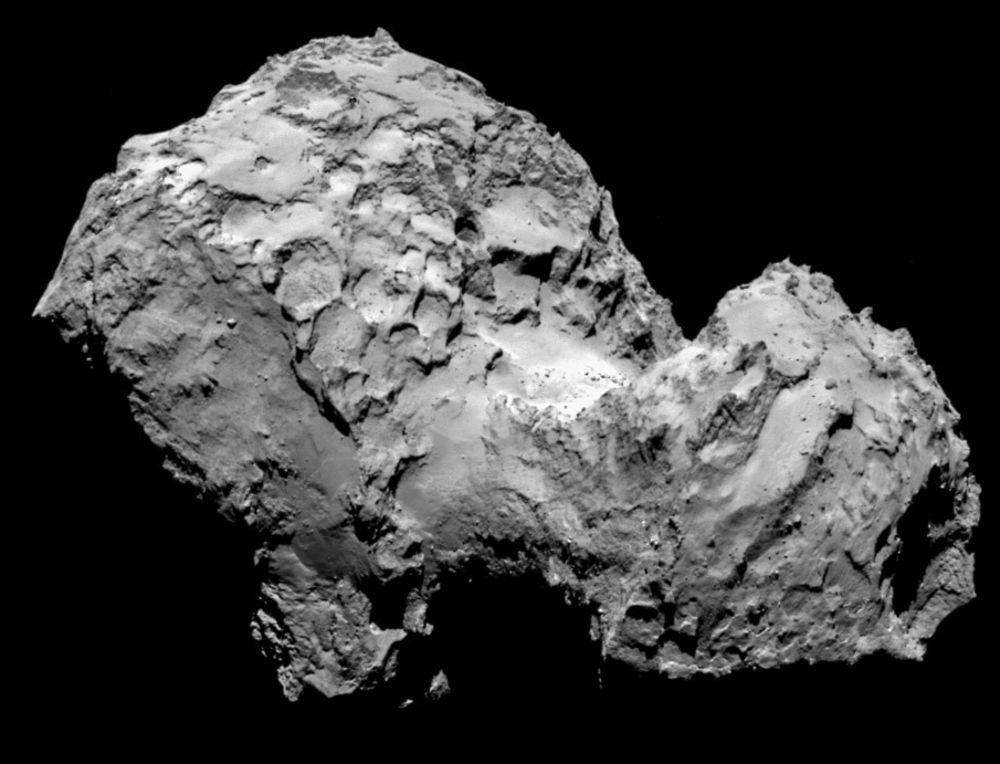 electric universe theory evidence comet 67p hollow