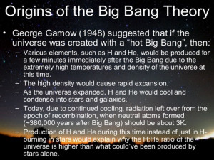 elements big bang theory evidence light heavy metals