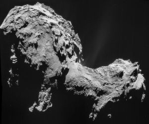 empirical evidence comet 67p electric universe theory