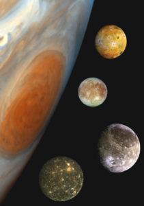 Jupiter electric JUICE