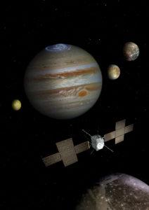 Jupiter plasma JUICE mission