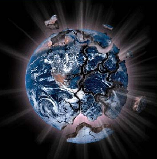 evidence earth catastrophe caused by other planets