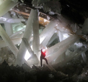 extremophiles life Naica's crystal caves