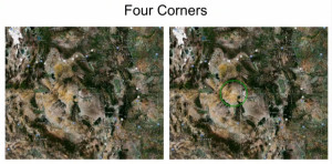 Four Corners mountain Grand Canyon formation