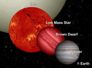 Brown dwarfs stars are gas giants planet