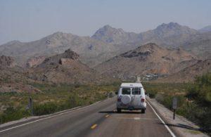 geology tour around grand canyon white van man