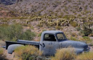 abandoned cars along Route 66