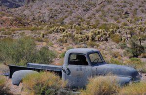 abandoned cars along Route 66