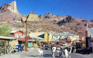 ghost gold towns oatman wild burros