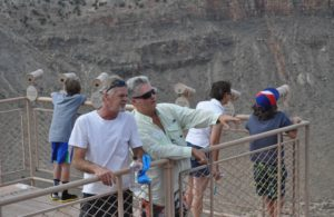 Electric Universe theory geology tour Meteor Crater Andrew Hall Bruce Leybourne