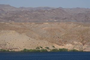EU theory geology tour Virgin River Lake Mead dunes erosion