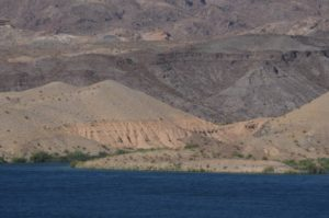 EU theory geology tour Virgin River Lake Mead sandstone