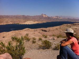 EU theory geology tour Virgin River Lake Mead blue
