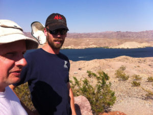 EU theory geology tour Virgin River Lake Mead water erosion