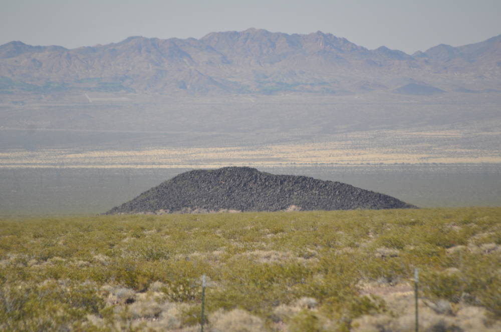 Geology mystery missing out of place lava basalt rock Nevada