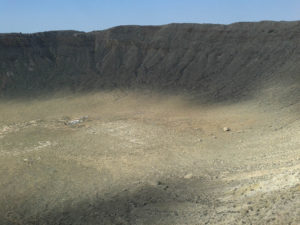Electric Universe theory geology tour Meteor Crater