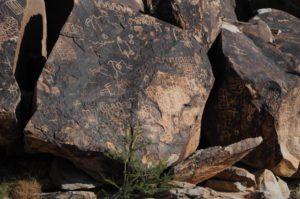 petroglyphs rock art Desert varnish