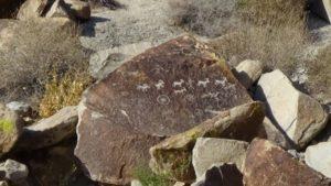 petroglyphs logograms tony peratt horned goat