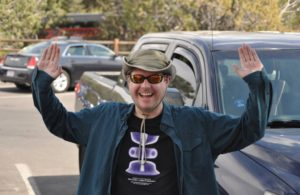 Electric Universe theory geology tour guide and driver Neil Thompson