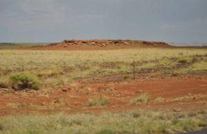 Electric Universe theory geology tour red sandstone Meteor Crater