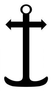 Saint Clements Cross Anchor Mariner