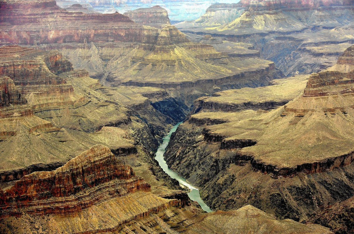grand canyon formation Aggregation attraction electrical sorting