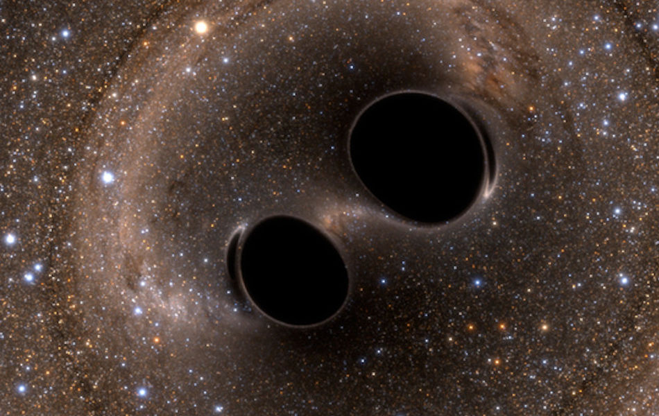 black holes gravitational waves space time continuim fabric