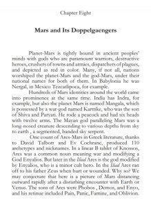 The Iron Age Of Mars Alfred de Grazia Quantavolution