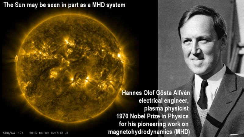 Hannes Alfven plasma researcher space universe electric scientist founder