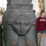 Hathor Sistrumcow goddess Egyptian