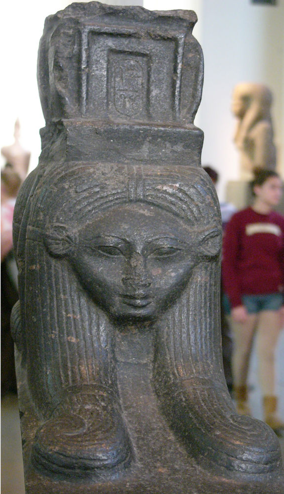 Hathor Sistrumcow goddess Egyptian