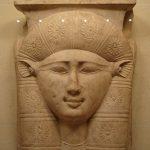 Hathor cow goddess Egyptian