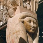 Hathor Sistrum cow goddess Egyptian