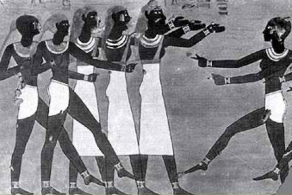 hathor dancers dancing priestesses ancient egypt