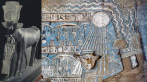 Hathors epithets titles names goddess egyptian