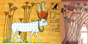 Hathor Milky Way cow goddesses what why