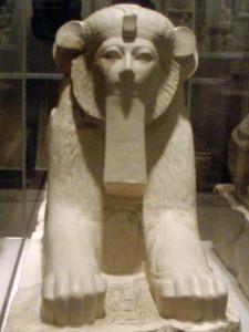 Hatshepsut Sphinx Hathor