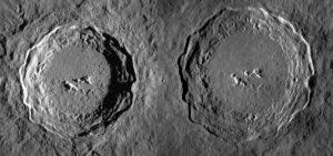 hexagonal craters irregular polygons